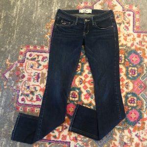 Skinny jeans low rise 0/S W24 dark denim Hollister